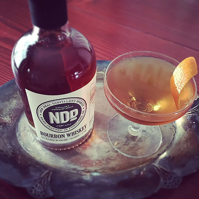 Ginger Manhattan | New Deal Distillery