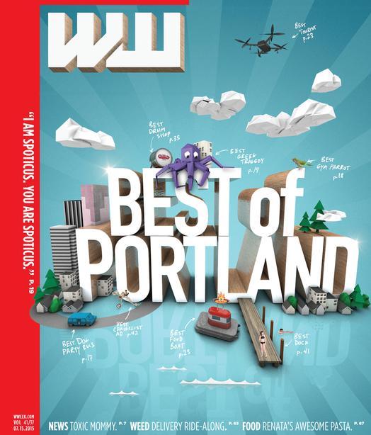 Willamette Week Best of Portland 2015