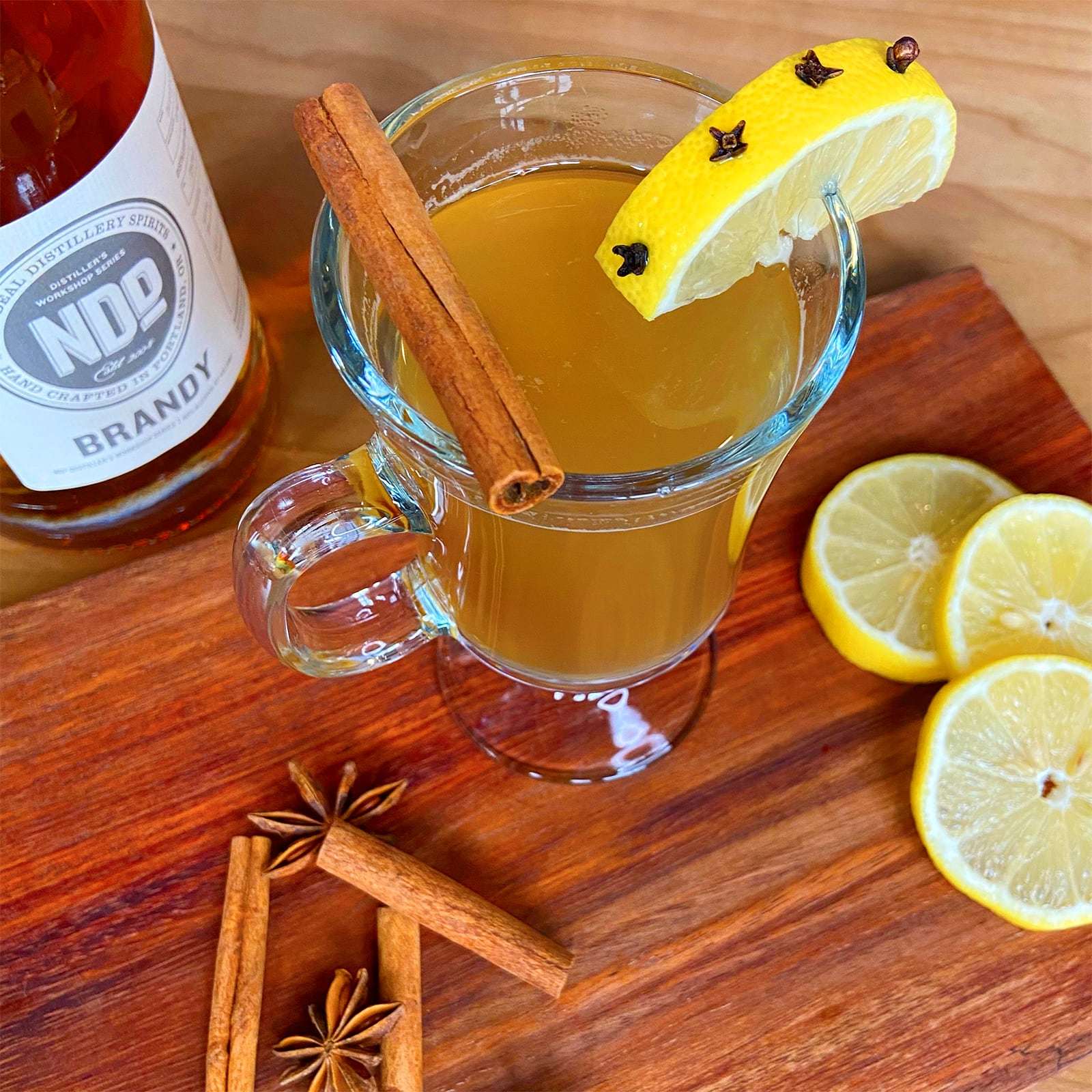 New Deal Classic Hot Toddy Cocktail recipe