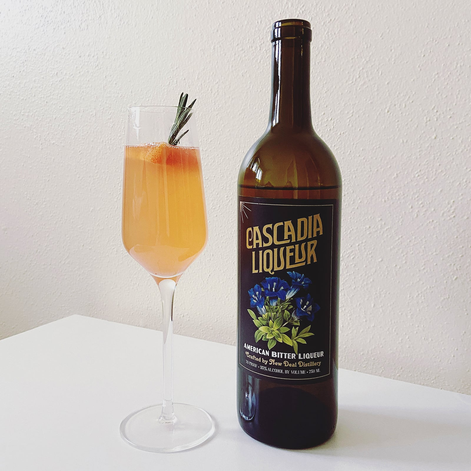 New Deal Cascadia Mimosa Cocktail Recipe