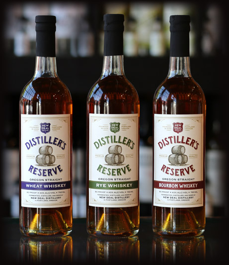 Oregon Straight Distiller's Reserver Whiskey