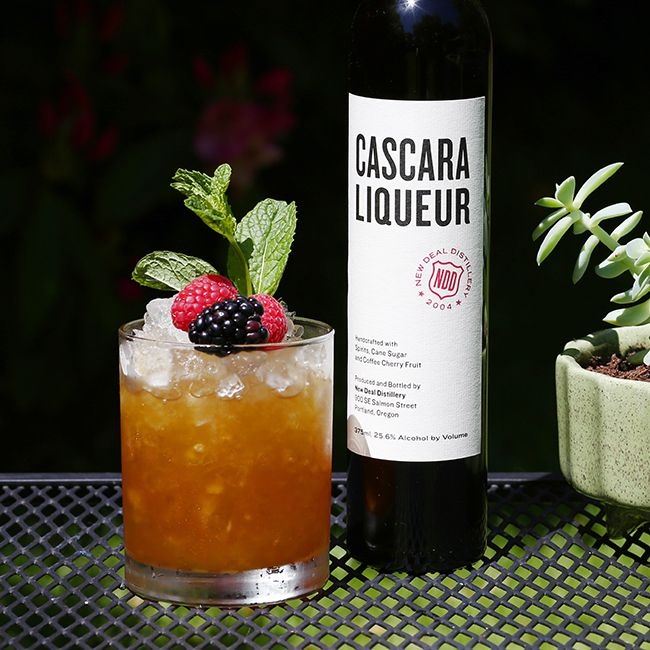 cascara cobbler cocktail recipe