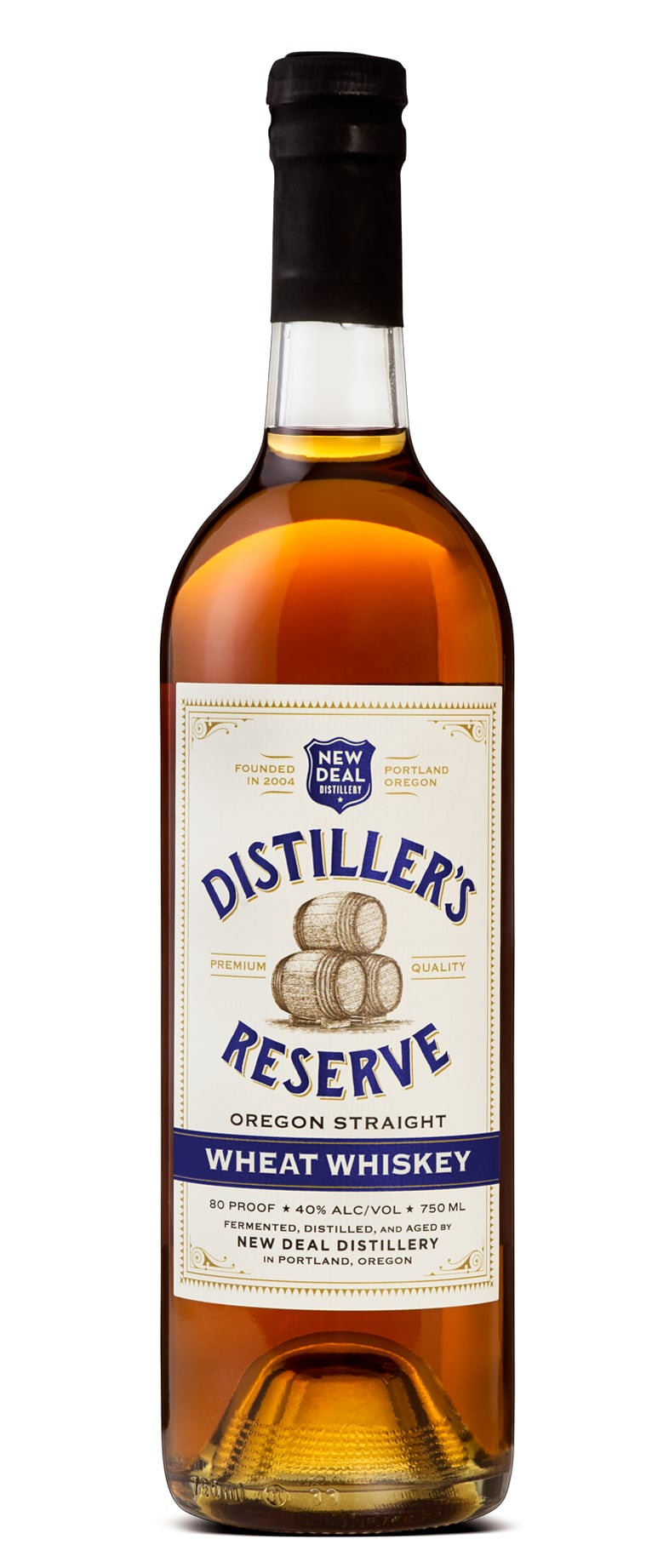 New Deal Distiller's Reserve Oregon Straight Wheat Whiskey