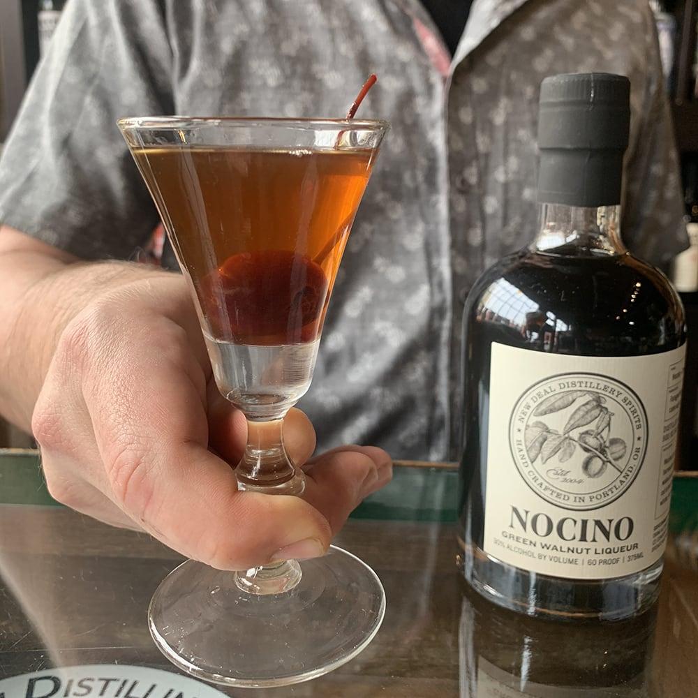 New Deal Nocino Manhattan Cocktail Recipe