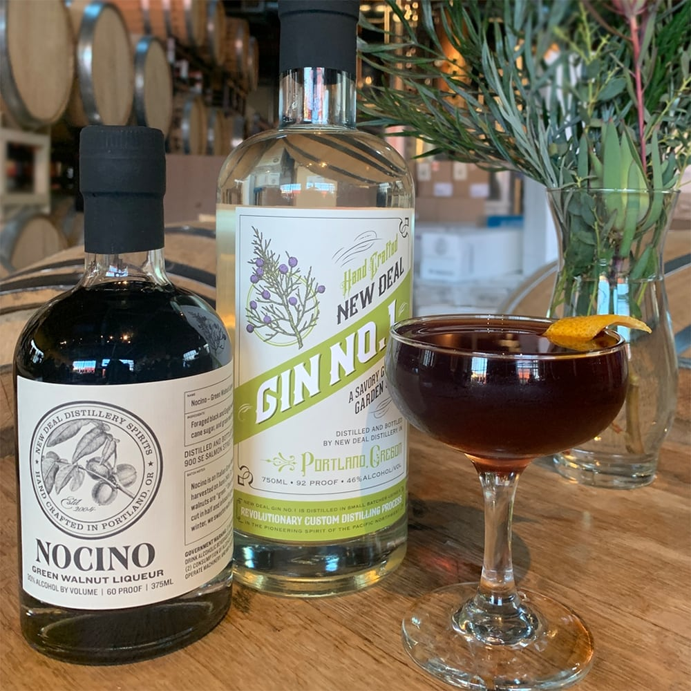 New Deal Soltice Negroni with Nocino Recipe