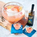 New Deal Shy Ruby Punch with Cascadia Liqueur