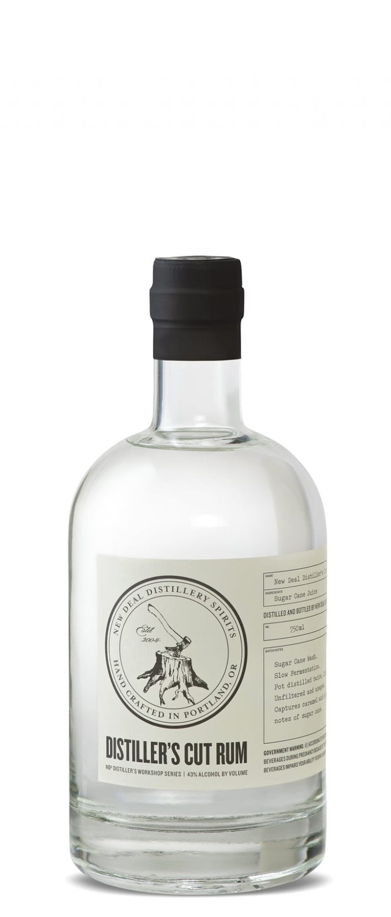 New Deal Distiller's Cut Rum