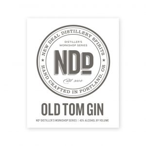 Distiller's Workshop Old Tom Gin