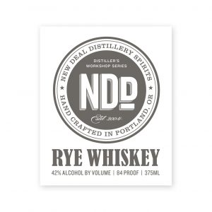 Distiller's Workshop Rye Whiskey
