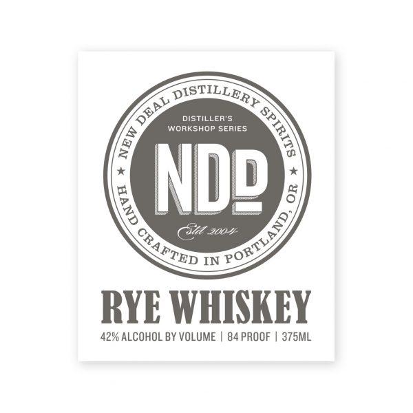 Distiller's Workshop Rye Whiskey
