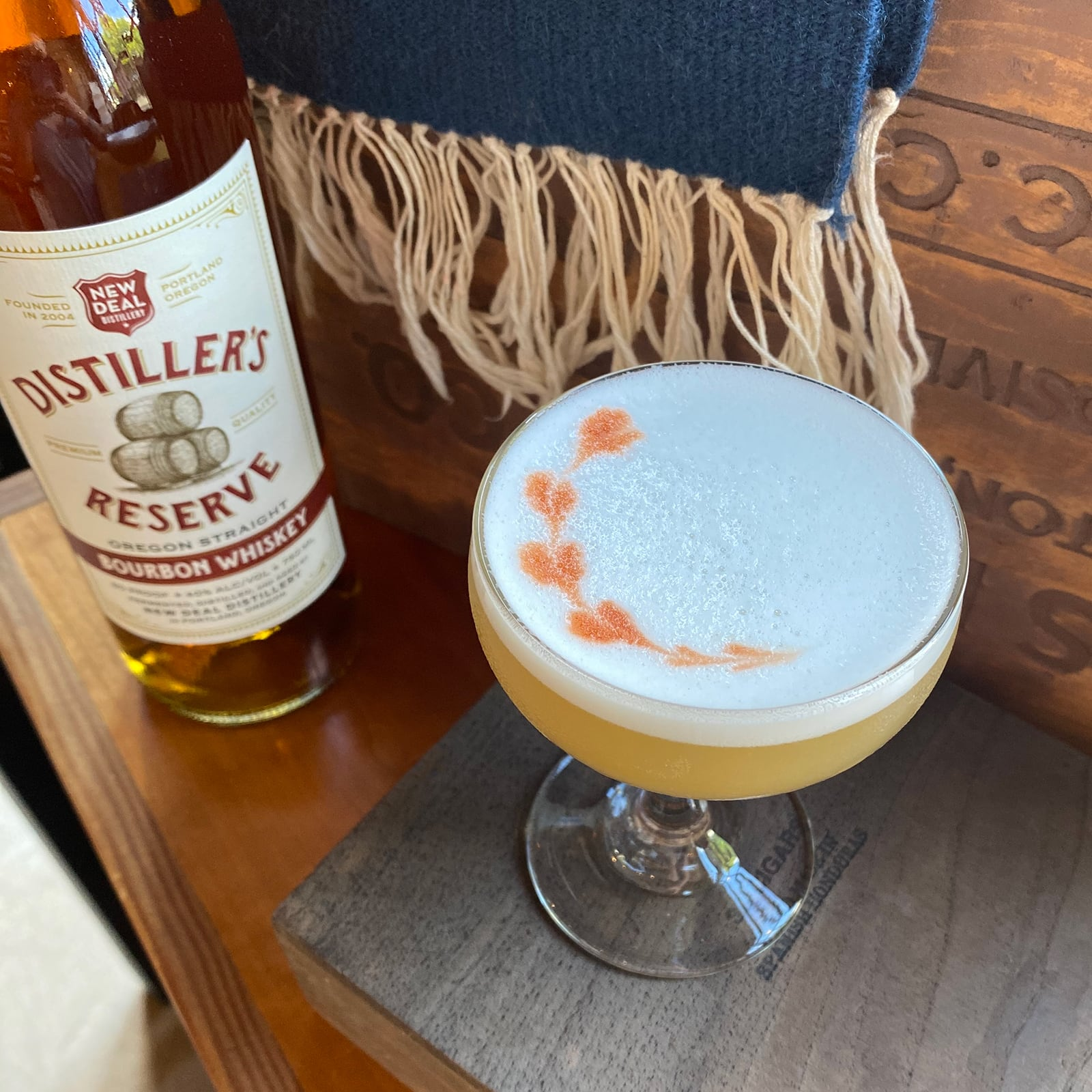New Deal Whiskey Sour Cocktail Recipe