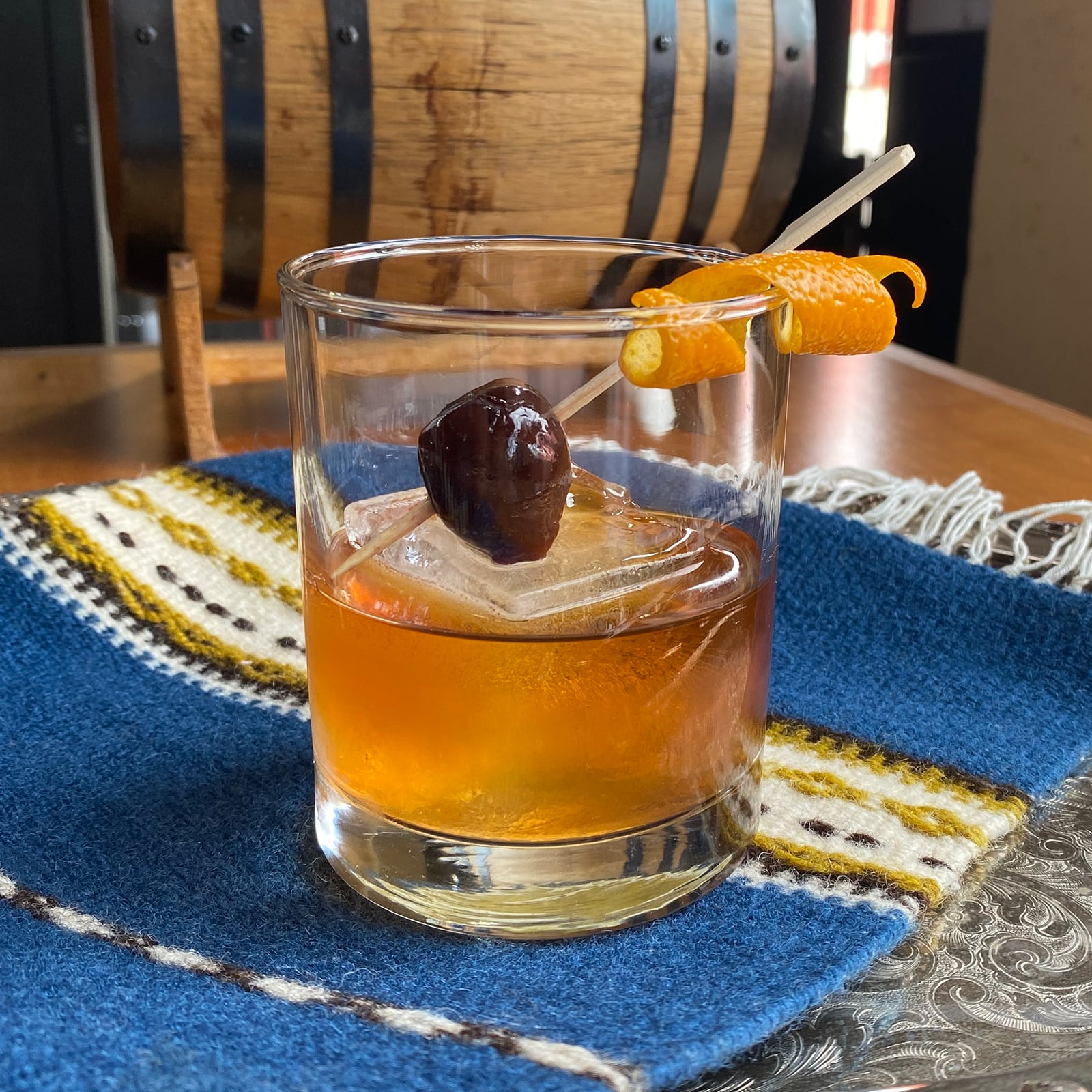 NEW DEAL OLD FASHIONED Cocktail recipe