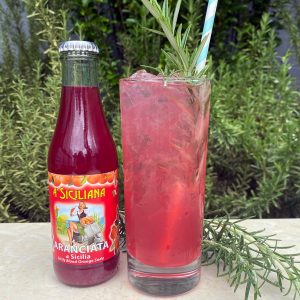 New Deal Blood Orange Colored Sky Cocktail Recipe