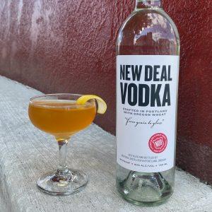 New Deal Tea Tini Cocktail Recipe