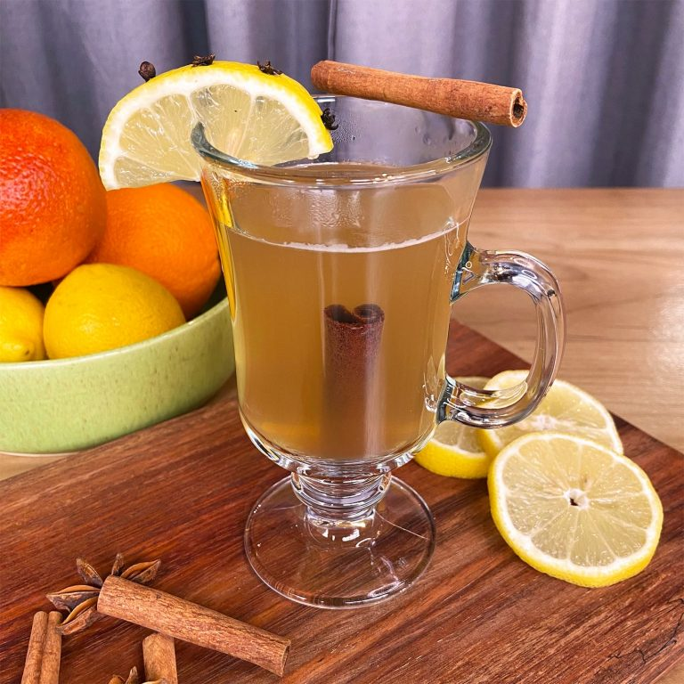 New Deal Ginger Hot Toddy Cocktail recipe