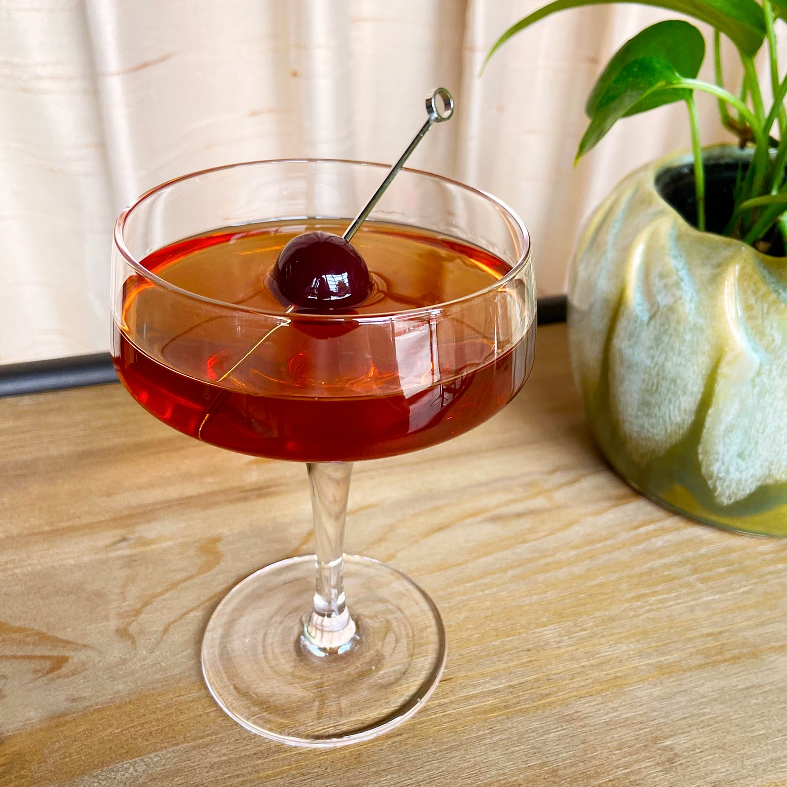 New Deal Martinez Cocktail Recipe