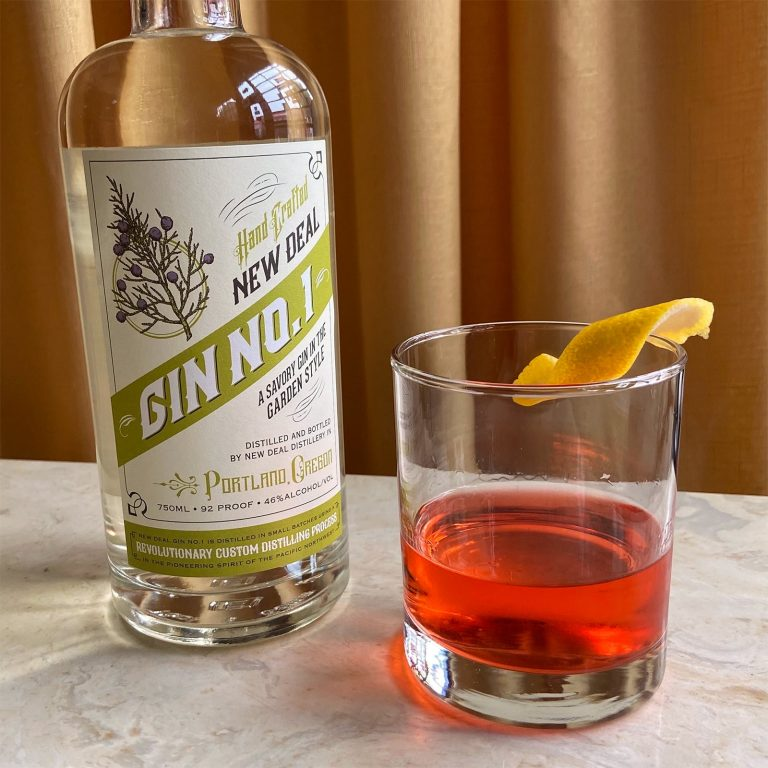 New Deal Gin No. 1 Sazerac Cocktail recipe