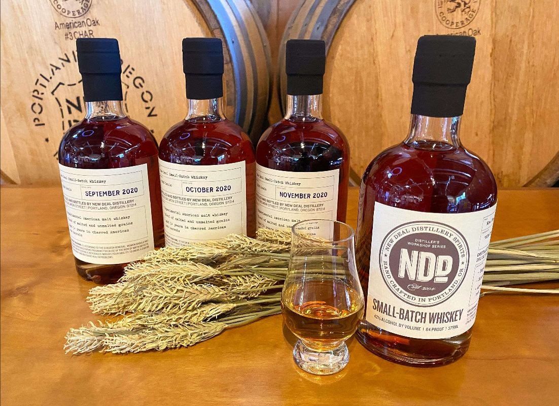 New Deal Small Batch Malt Whiskeys