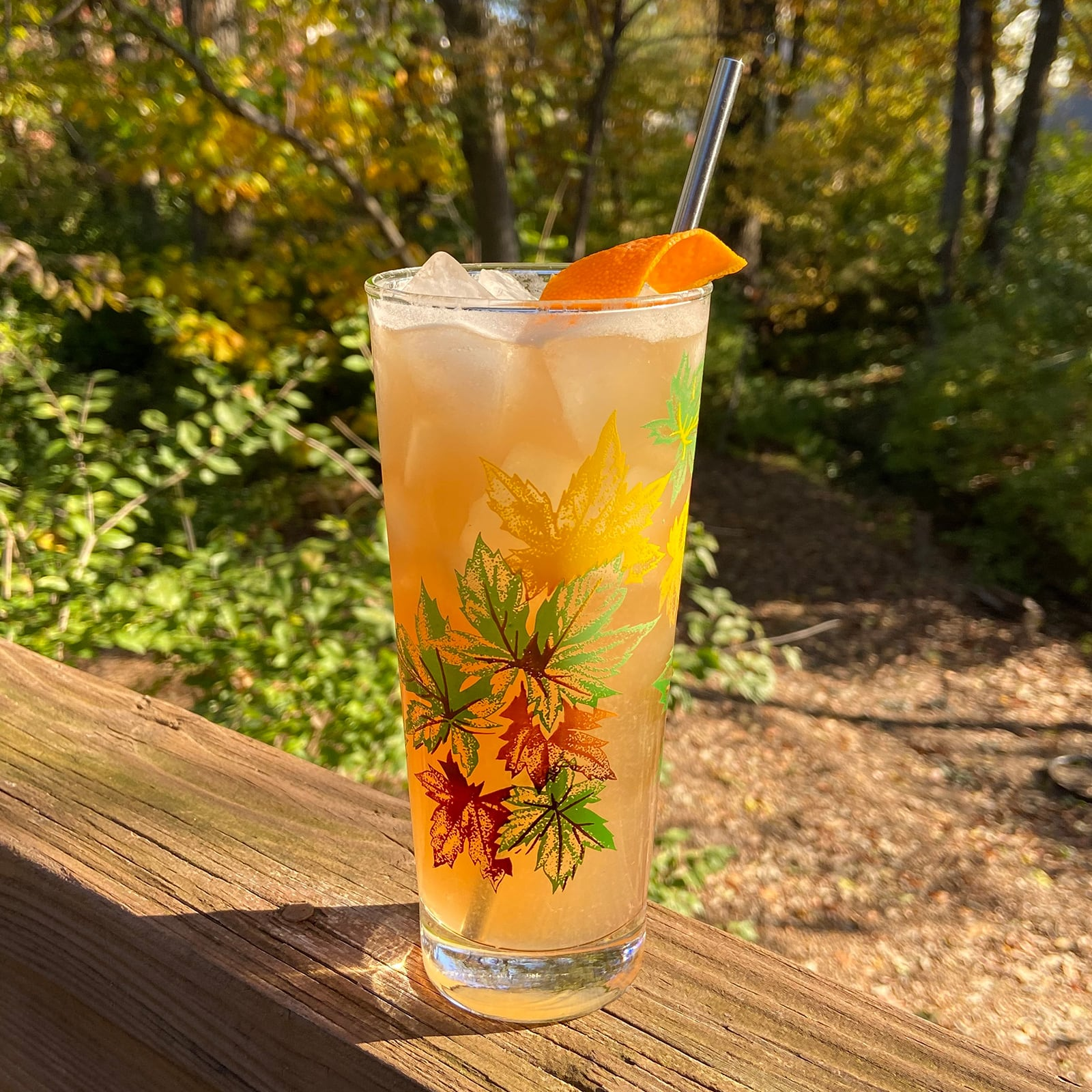 New Deal Fall Collins Cocktail Recipe