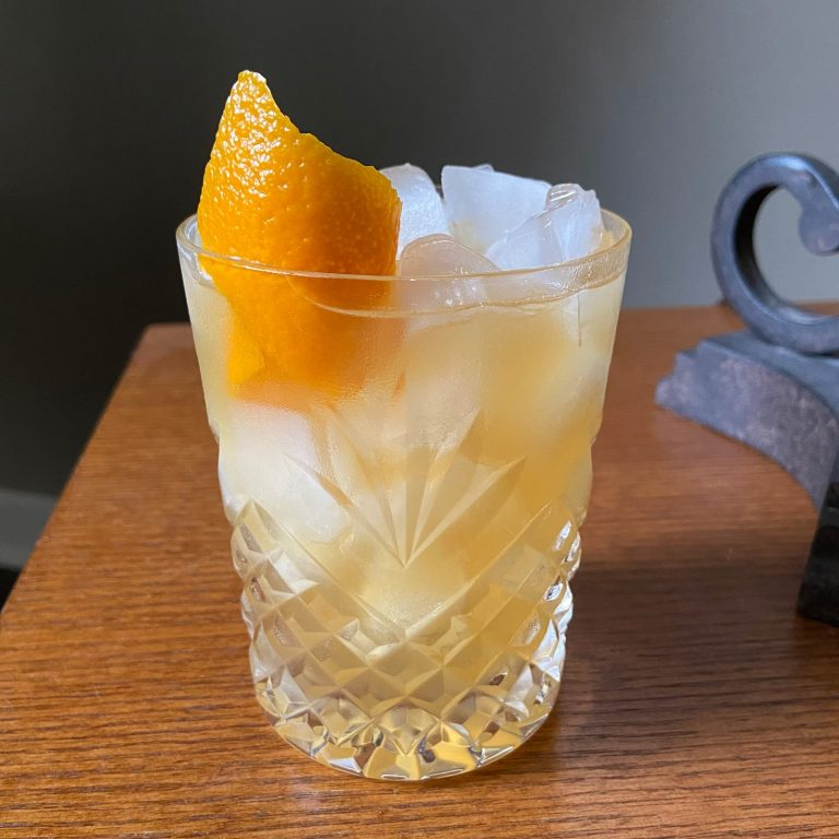 New Deal Maple Bourbon Sour Cocktail Recipe