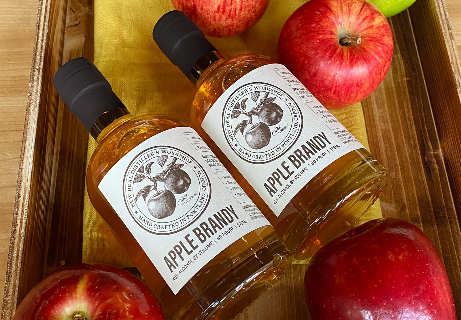 New Deal Distiller's Workshop Apple Brandy