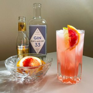 New Deal Blood Orange Gin and Tonic Recipe