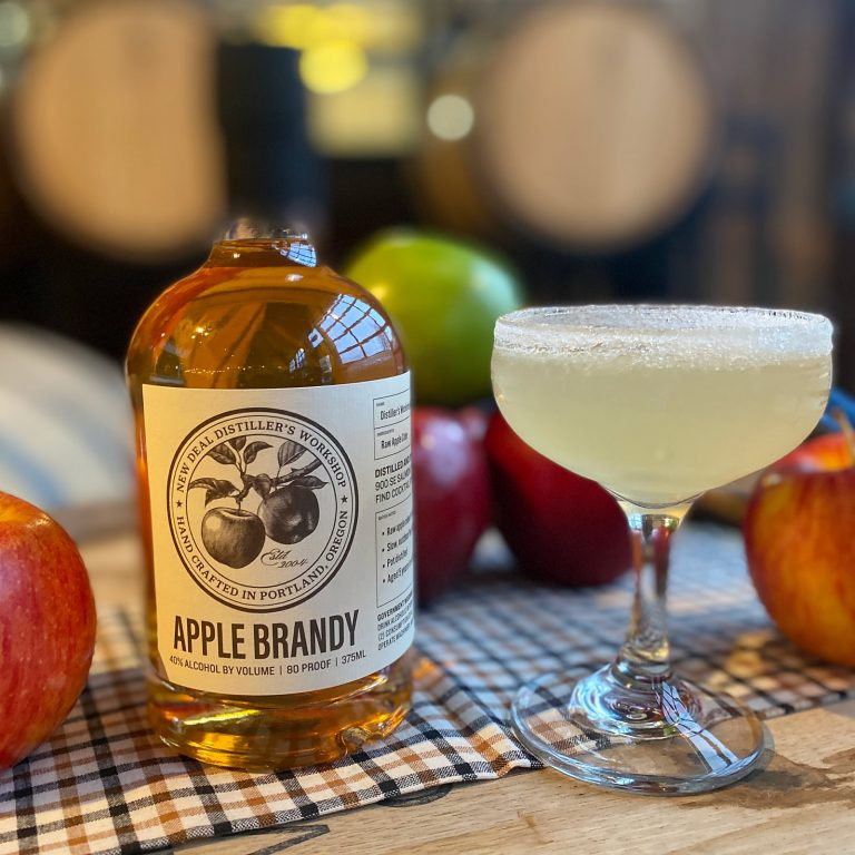 New Deal Easy Rider Apple Brandy Sidecar