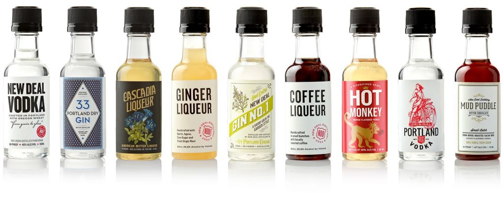 New Deal Spirits Mini Bottles