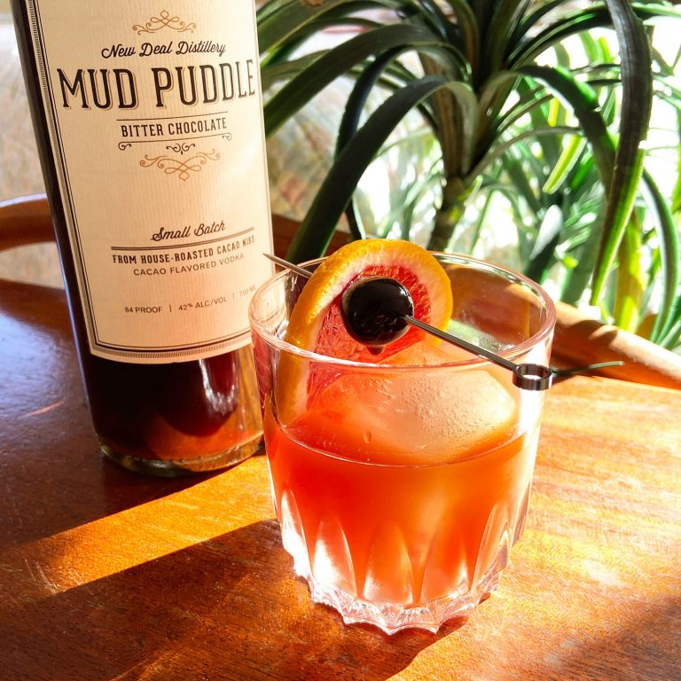 New Deal Mud Puddle Old Fashioned Cocktail