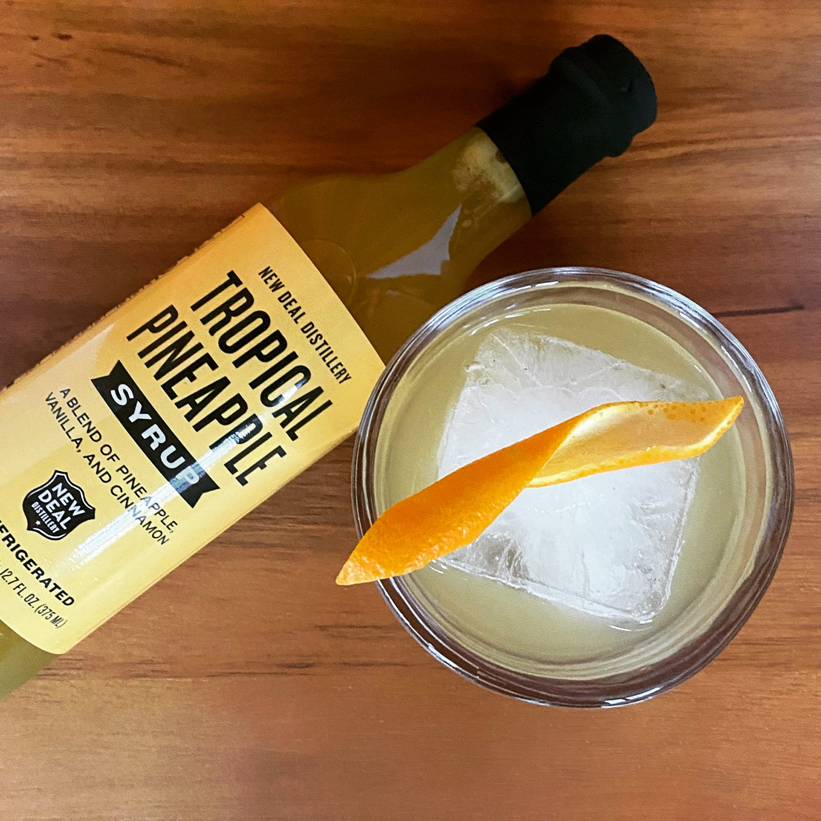 New Deal Pineapple Express Cocktail Recipe