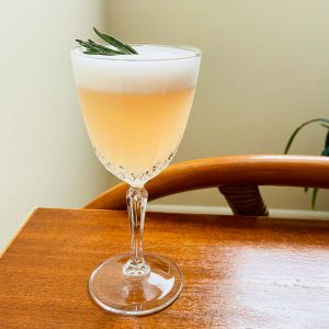 New Deal Pink Cashmere Gin Sour