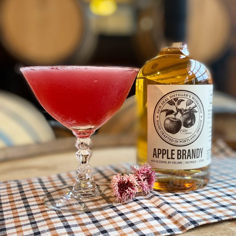 Apple Brandy Cosmo Cocktail