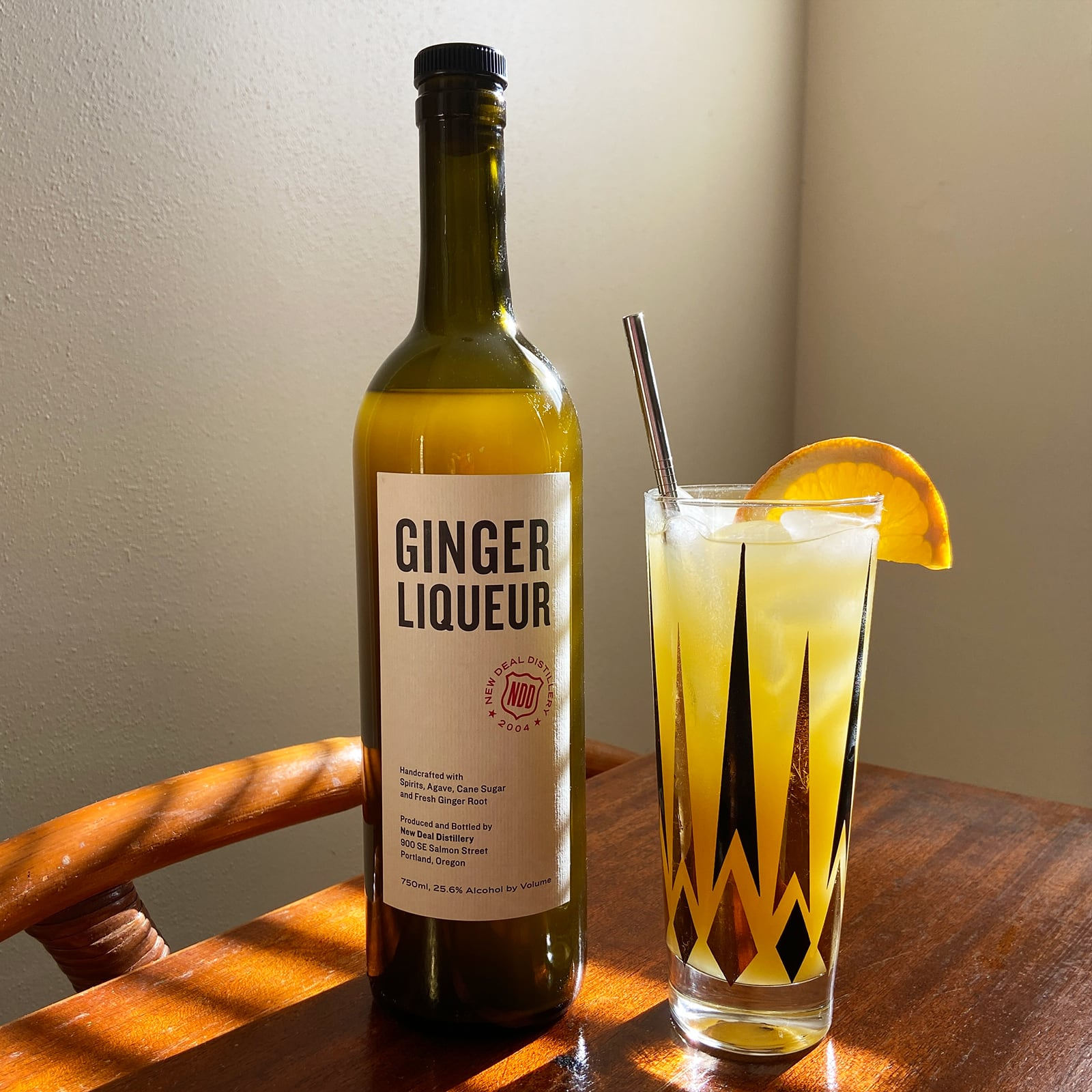 Sunday Driver Ginger Screwdriver Cocktail