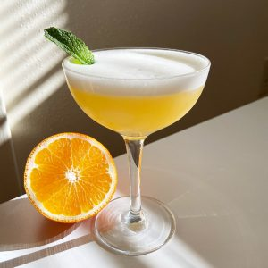 New Deal Tangelo Sour Cocktail Recipe