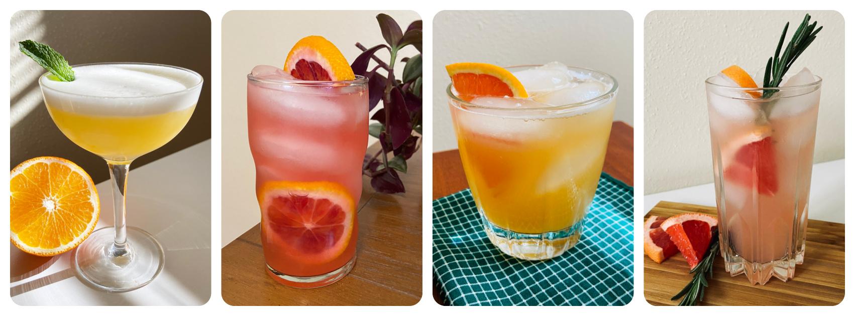 Winter Citrus Cocktail Recipes