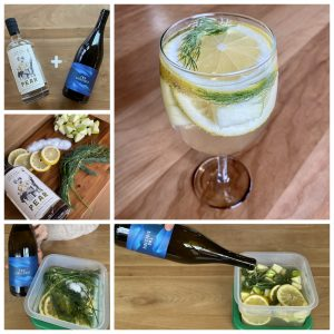 New Deal White Wine & Pear Brandy Sangria Recipe