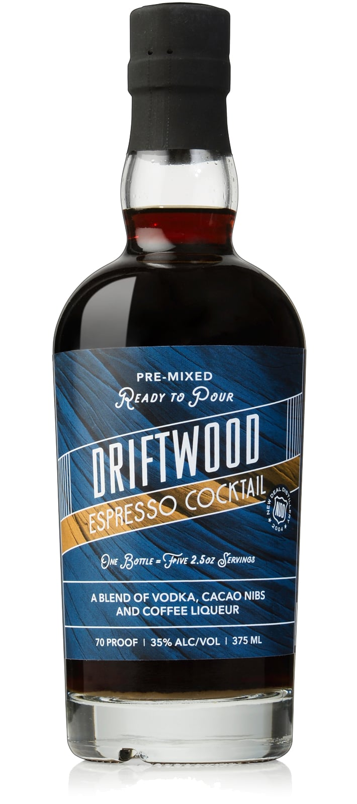 New Deal Driftwood Espresso Martini