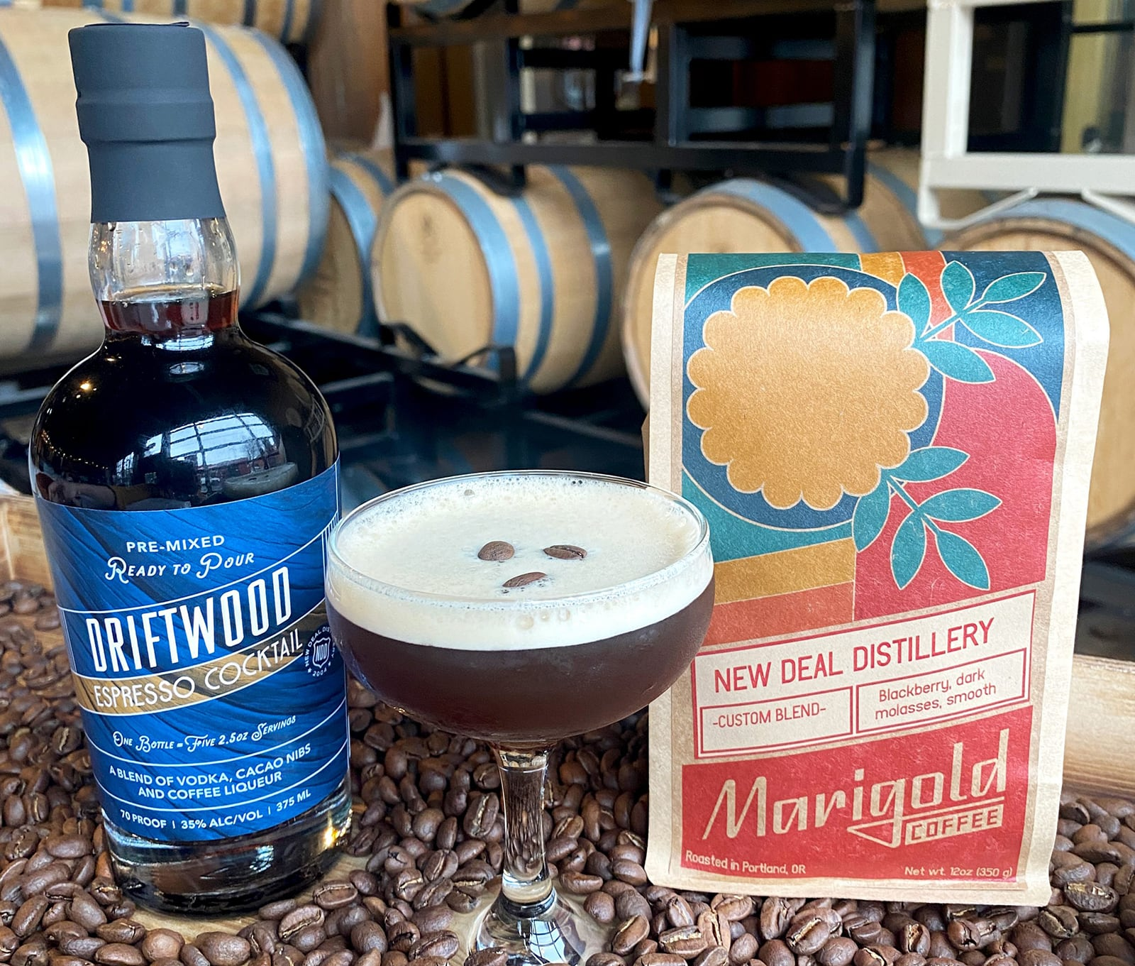 New Deal Coffee Cocktail Collaboration