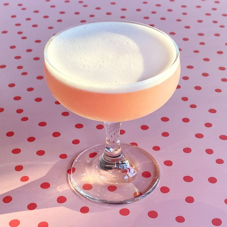 New Deal Pink Lady Cocktail Recipe