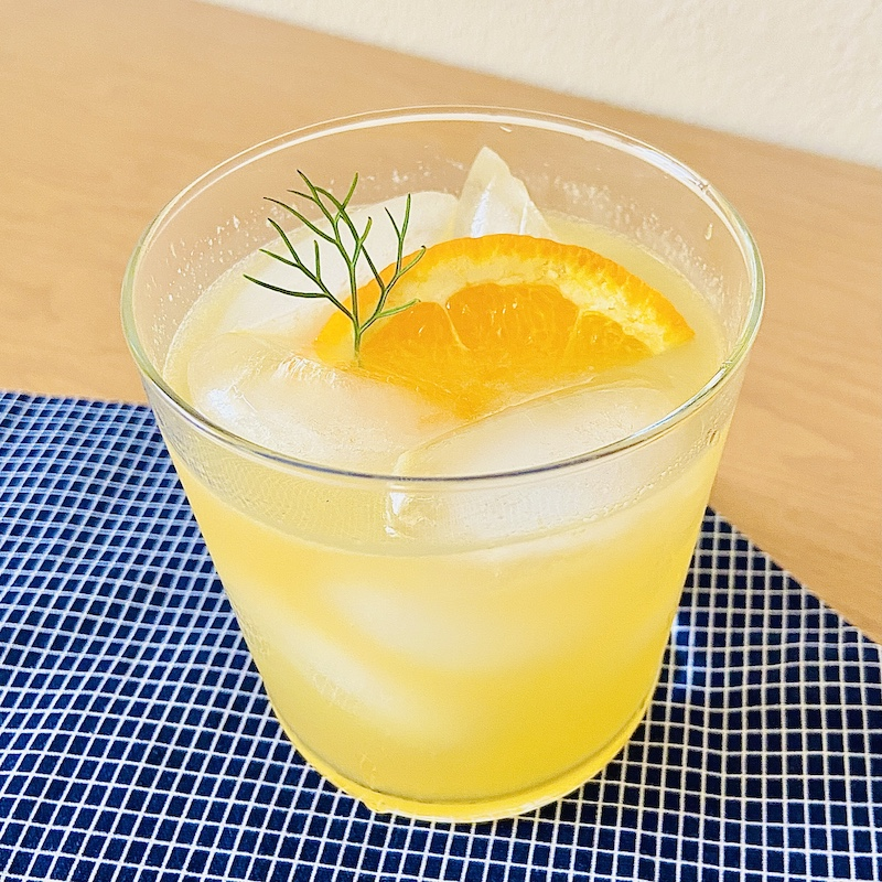 New Deal Apples and Oranges Brandy cocktail recipe