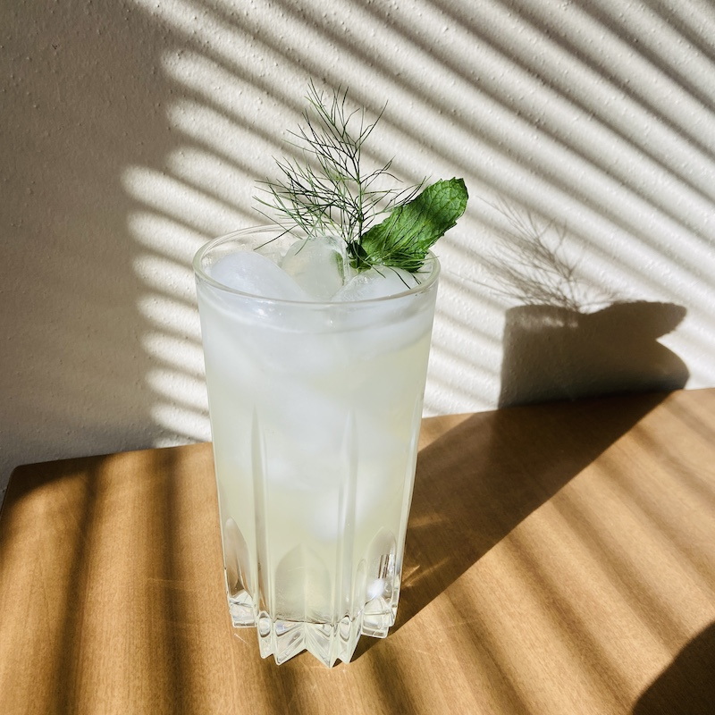 New Deal Mint Condition Vodka Fennel Cocktail Recipe