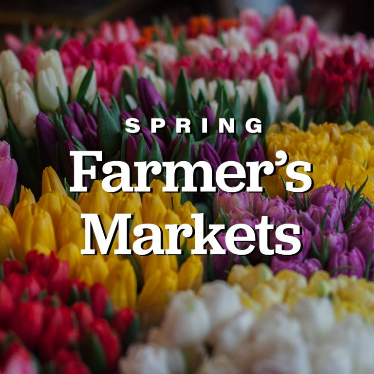 Spring Farmer's Markets