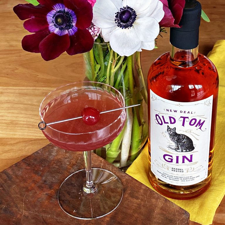 last meow old tom gin last word riff cocktail