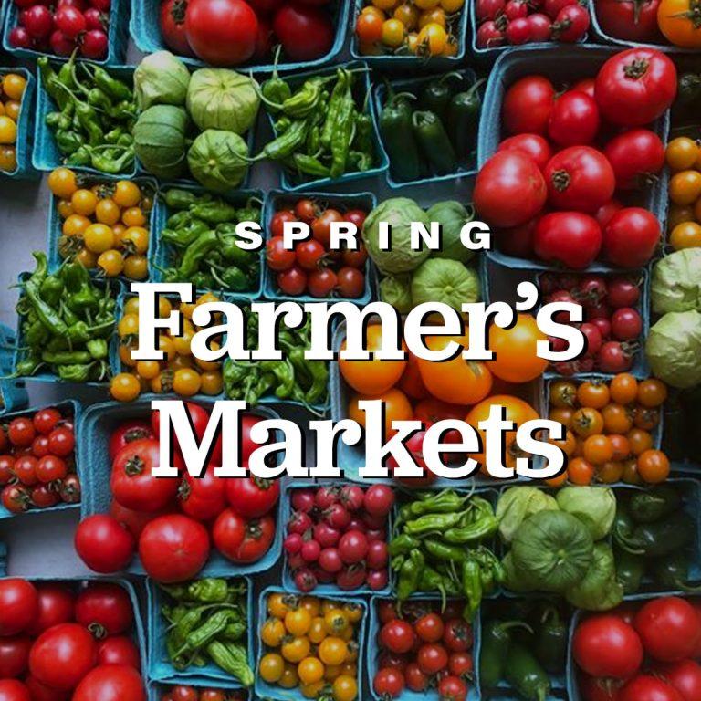 Spring Farmer's Markets