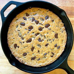 bourbon skillet cookie