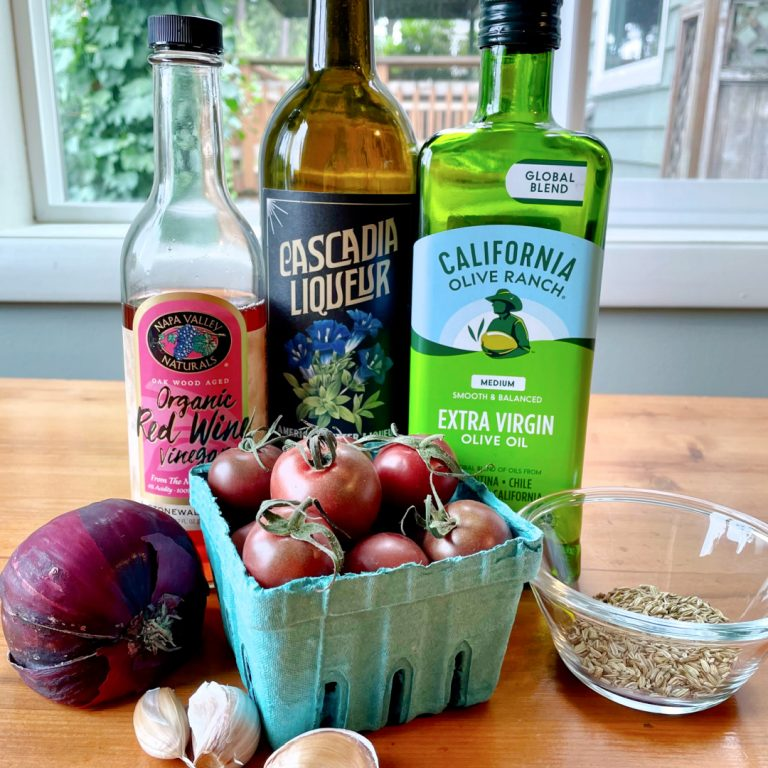 new deal cascadia liqueur roasted tomatoes