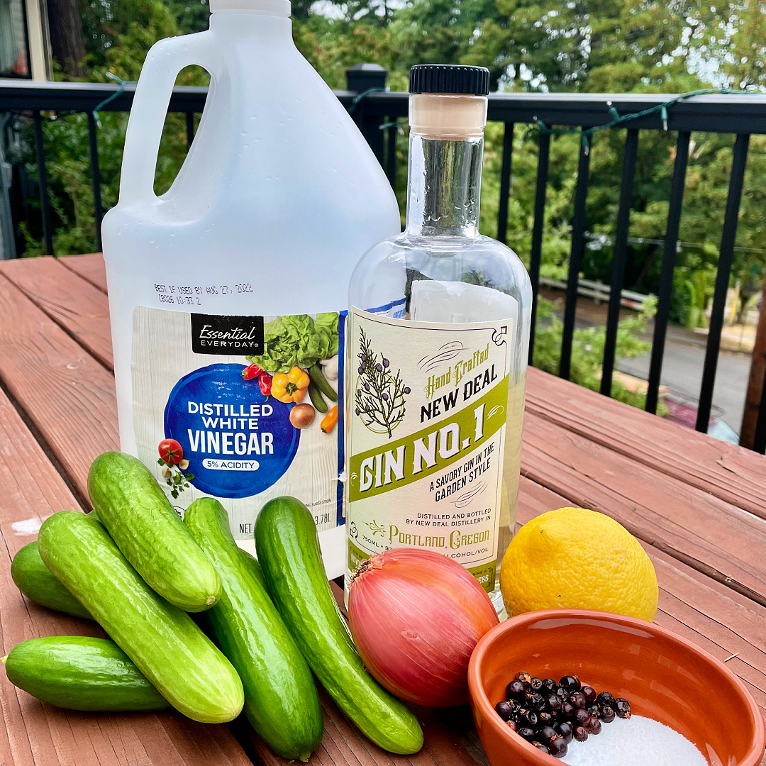 new deal gin pickles
